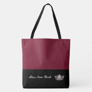 Silberne Kronen-Taschen-Tasche-Großer Wein Tasche