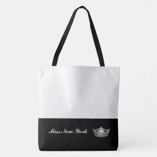 Silberne Kronen-Taschen-Tasche-Großes Weiß Tasche