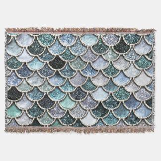 Silberne Metallfolien-Glitter Mermaidscales Skalen Decke