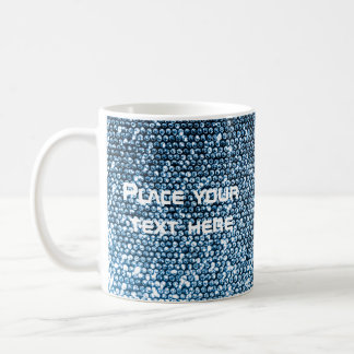 Silberne Paillette Tasse