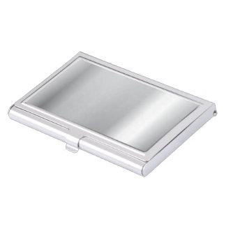 Silberne Politur Visitenkarten-Behälter