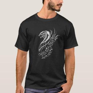 Silberner Wolf T-Shirt
