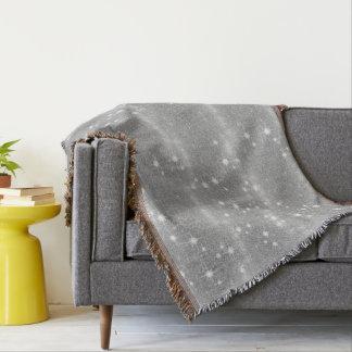 Silbernes Glitzer-Schein-Metallmetallischer Blick Decke