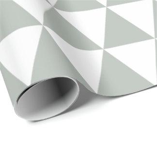 Silbernes Grau-Dreieck-Packpapier Geschenkpapier