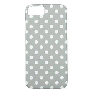 Silbernes Grau-Tupfen iPhone 7 Fall iPhone 7 Hülle