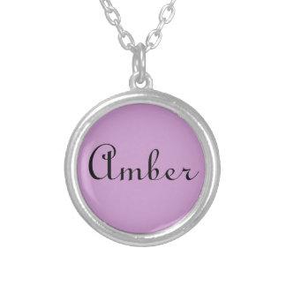 Silbernes Halskettengeschenk der Versilberte Kette