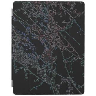 Silhouette Autumnus iPad Abdeckung iPad Hülle