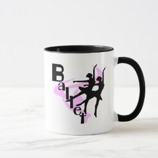 Silhouette-Ballett-T - Shirts und Geschenke Tasse