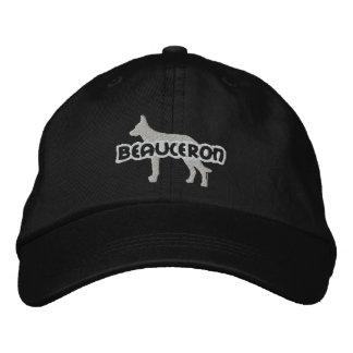 Silhouette-Beauceron gestickter Hut Bestickte Baseballcaps