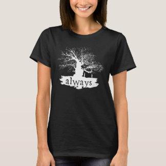 Silhouette de citation du charme | de Harry Potter T-shirt