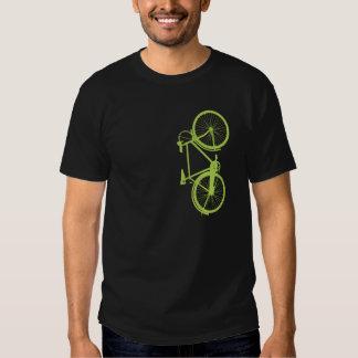 Silhouette de vélo de Fixie Tee-shirts