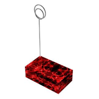 Silhouette des abstrakten roten Schwarzen des