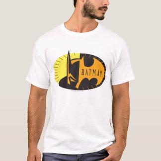 Silhouette-Logo des Batman-Symbol-| T-Shirt