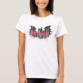 Silhouette-Logo des Batman-| T-Shirt