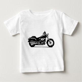 Silhouettemotorrad Baby T-shirt