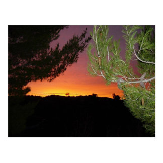 Silicon Valley-Sonnenaufgang-Postkarte Postkarte