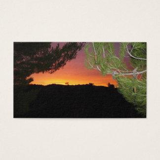 Silicon Valley-Sonnenaufgang-Visitenkarte Visitenkarte