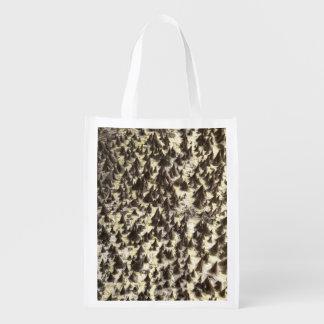 Silk Glasschlacken-Baum-wiederverwendbare Tasche Wiederverwendbare Einkaufstasche