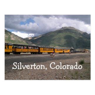 Silverton, Colorado-Postkarte Postkarte