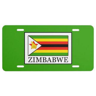 Simbabwe US Nummernschild