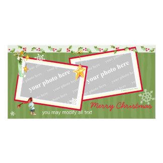 Simplement Noël Photocarte Personnalisée