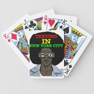 Simsen Sie in Spielkarten New York City