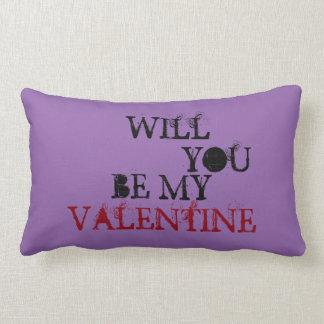 Sind Sie mein Valentinsgruß Lendenkissen