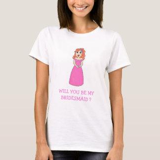 SIND SIE MEINE BRAUTJUNGFER? T - Shirt