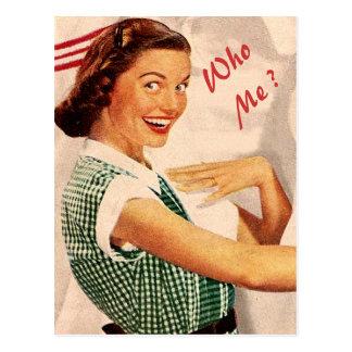 sind Sie meine Brautjungfer, Trauzeugin… Postkarte