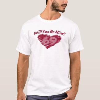 Sind Sie Valentinsgruß neun? T-Shirt