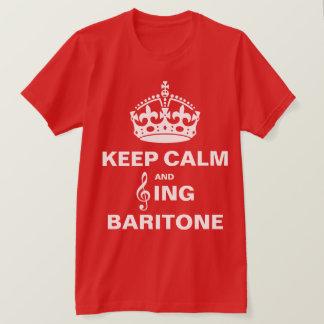 Singen Sie Bariton T-Shirt