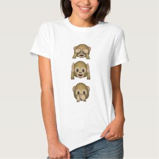 Singes d'Emoji Tee Shirt