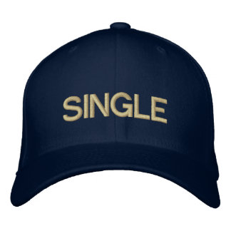 SINGLE BESTICKTE KAPPE