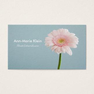 Single-Blume Visitenkarte