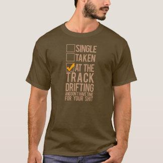 Single genommen - am Bahn-Treiben T-Shirt