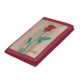 Single-Rote Rose