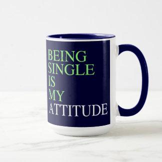 Single sein tasse