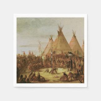 Sioux-Kriegs-Rat Papierserviette