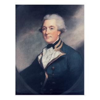 Sir Andrew Hamond, BT Postkarte