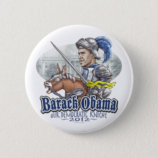 Sir Barack Obama Runder Button 5,1 Cm