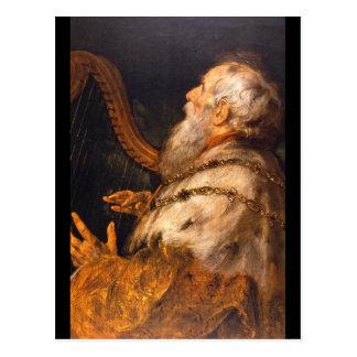 Sir Peter Paul_Dutch Masters König-David', Postkarte