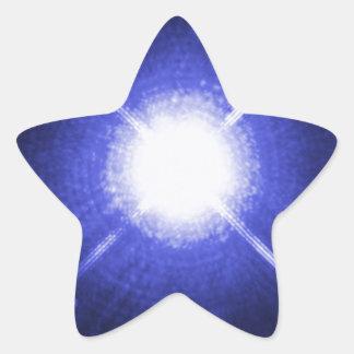 Sirius A und B helle Nachtsterne Stern-Aufkleber