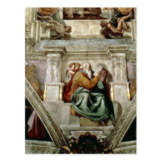 Sistine Kapellen-Decke, 1508-12 Postkarte