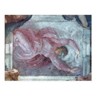 Sistine Kapellen-Decke 2 Postkarte