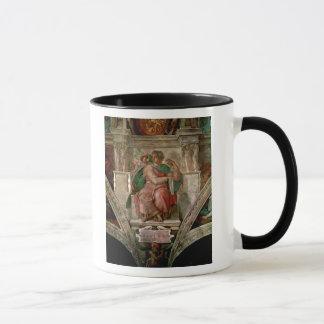Sistine Kapellen-Decke: Der Prophet Jesaja Tasse