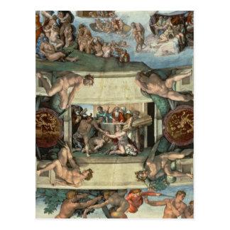 Sistine Kapellen-Decke Postkarte