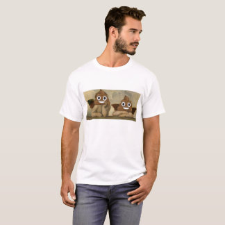 Sistine Madonna Engel mit glücklichem kacken T-Shirt