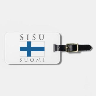 Sisu Suomi Gepäckanhänger