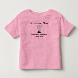 Sitka Sommer-Musik-Festival -- Kleinkind Kleinkinder T-shirt