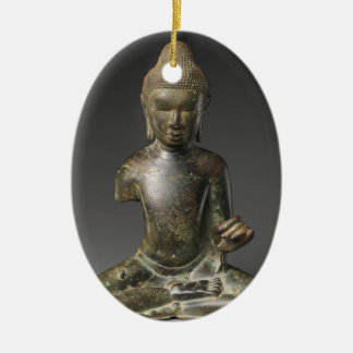Sitzbuddha- - Pyuzeitraum Keramik Ornament